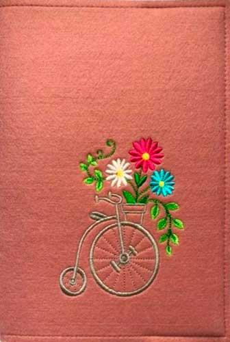 Записные книжки в фетровой обложке